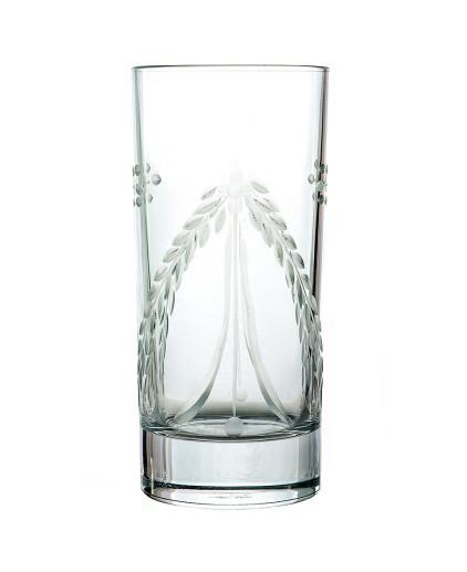 Bicchiere in cristallo da Long drink - Antico